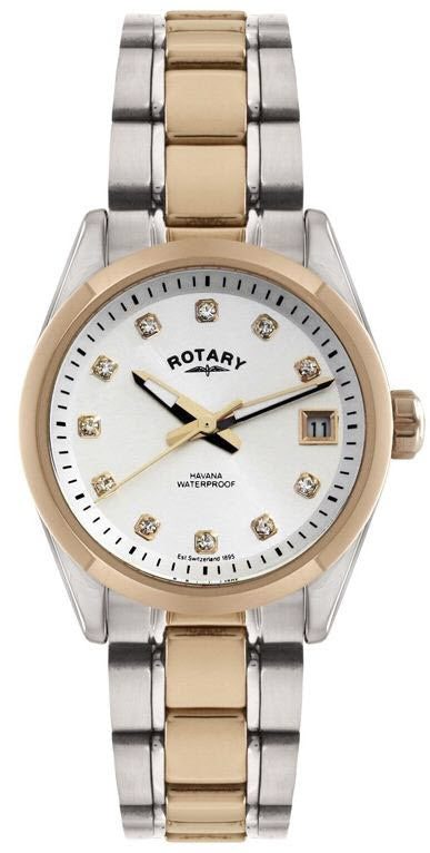 Rotary Watch Ladies Two Tone