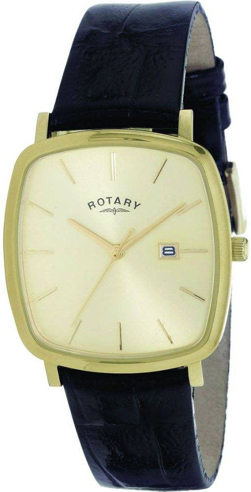 Rotary Watch Gents Strap Metal