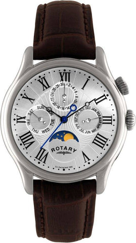 Rotary Watch Gents Steel Strap