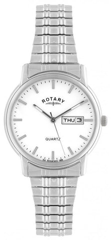 Rotary Watch Expandable Gents