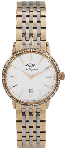 Rotary Watch Two Tone Ladies