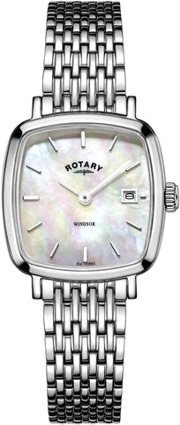Rotary Watch Windsor Cushion Ladies