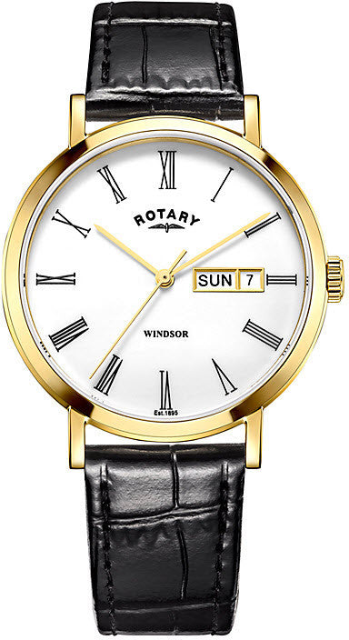 Rotary Watch Windsor Mens