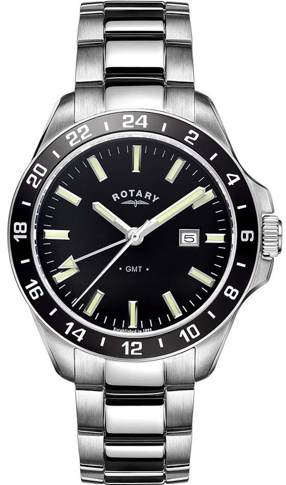 Rotary Watch Gents Stainless Steel Bracelet