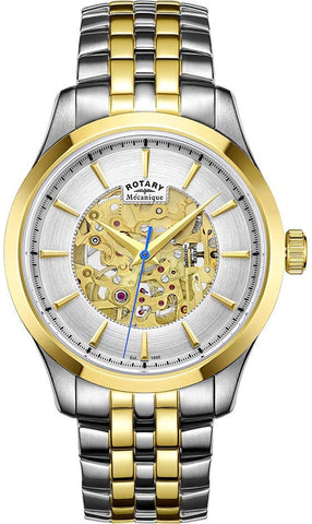 Rotary Watch Mecanique Mens