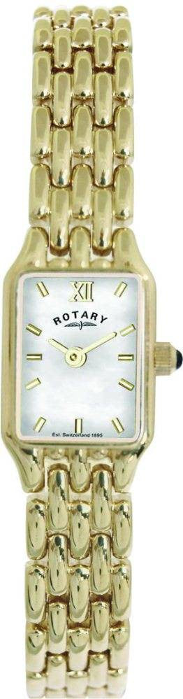 Rotary Watch Ladies Bracelet Gold PVD S