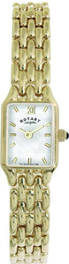 Rotary Watch Ladies Bracelet Gold PVD S LB00739/41
