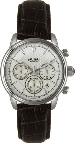 Rotary Watch Gents Stainless Steel Strap