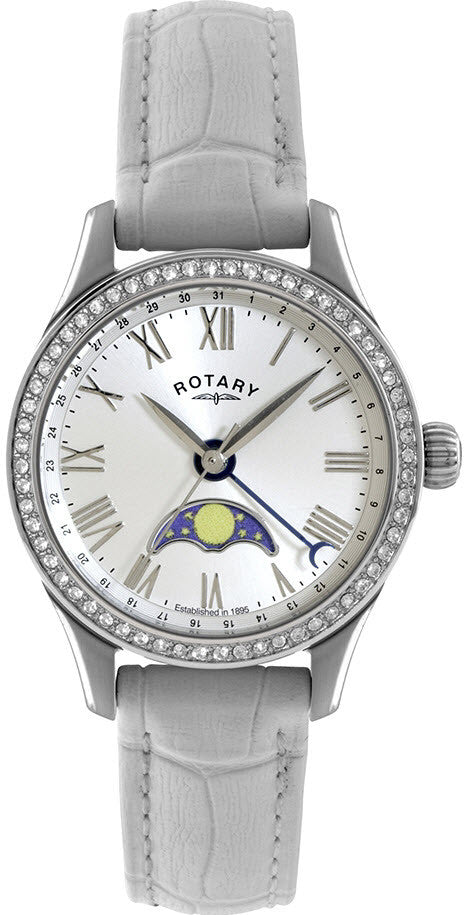 Rotary Watch Ladies Stainless Steel Strap