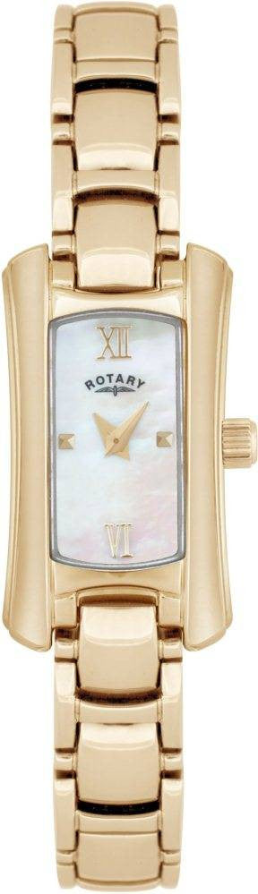 Rotary Watch Ladies Bracelet Gold Plate D