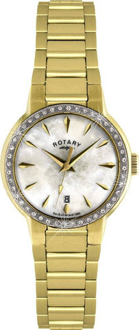 Rotary Watch Ladies Gold PVD Bracelet