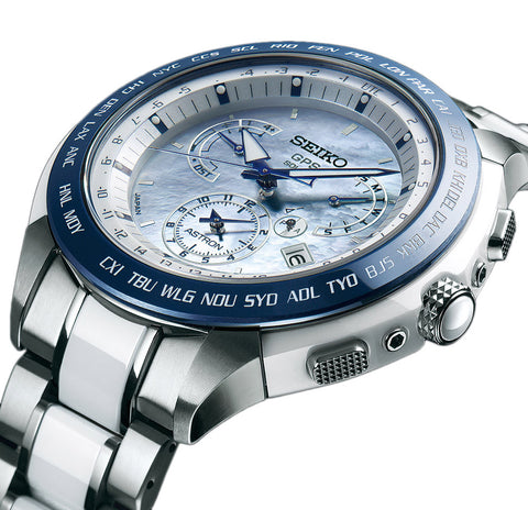 Seiko Astron Watch GPS Solar Dual Time Limited Edition D