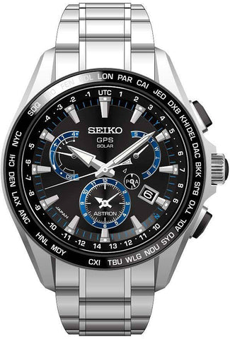 Seiko Astron Watch GPS Solar Dual Time