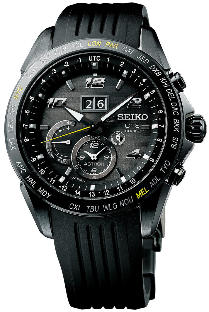 Limited Edition Birthday Collection: Seiko Astron Watch Novak Djokovic Limited Edition SSE143J1