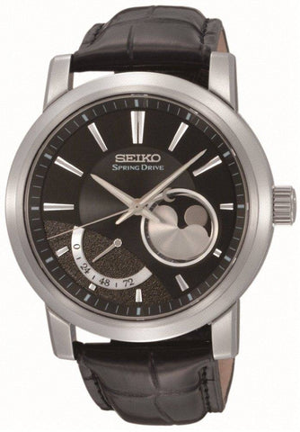 Seiko Ananta Spring Drive Moon Phase Limited Edition D