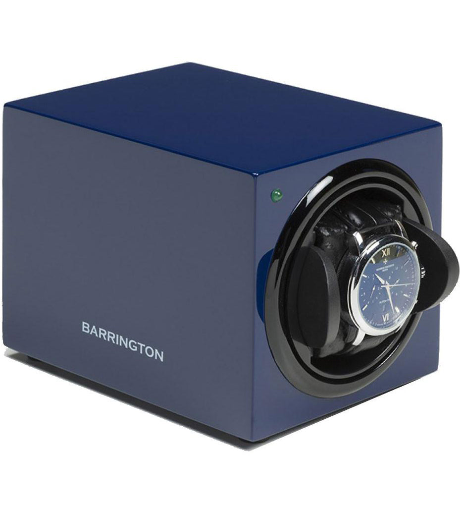 Barrington Watch Winder Single Shadow Midnight Blue