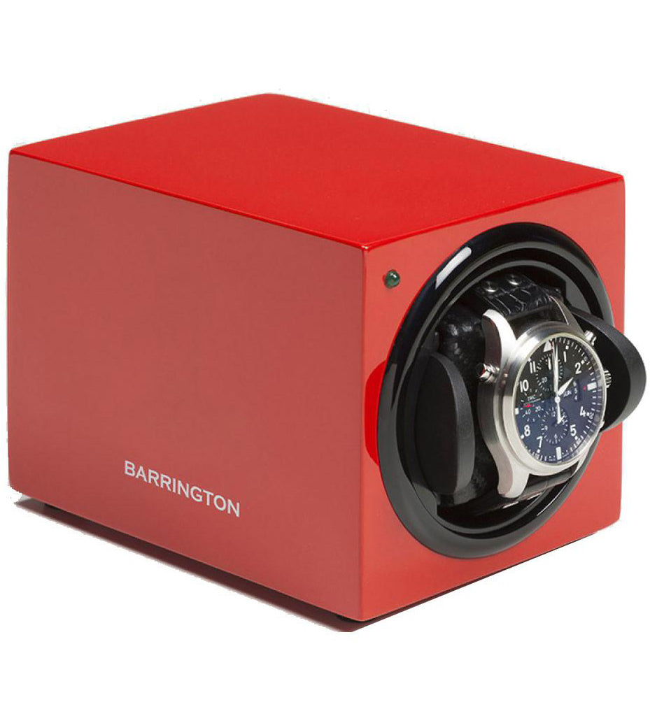 Barrington Watch Winder Single Crimson Red