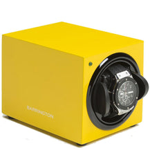 Barrington Watch Winder Single Electric Yellow