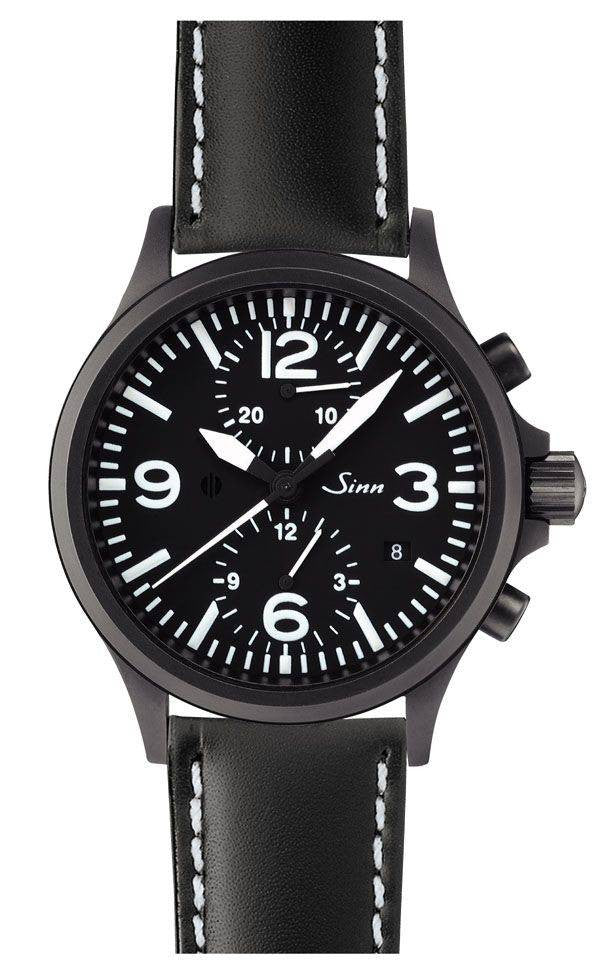 Sinn Duo Chronograph 756 S Leather D