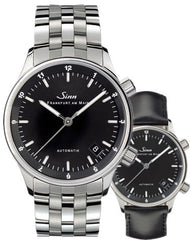 Sinn Watch 6033 Finance Center Bracelet-Leather D