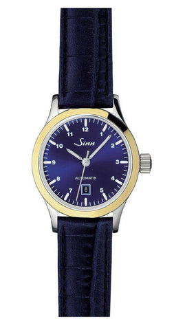 Sinn Ladies Watches 456 St 18 karat Perlmutt W Alligator D