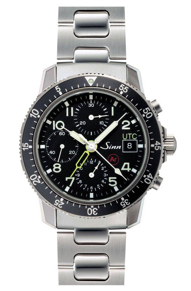 Sinn Flieger Chronograph Second Time Zone 103 Ti Ar UTC D