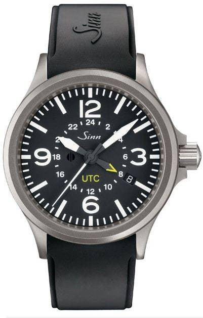 Sinn Watch 856 UTC Rubber