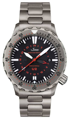 Sinn Watch U2 - EZM 5 Bracelet