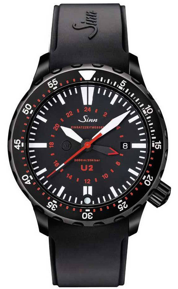 Sinn Watch U2 S - EZM 5 Rubber