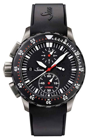Sinn Watch U1000 SDR - EZM 6 Rubber