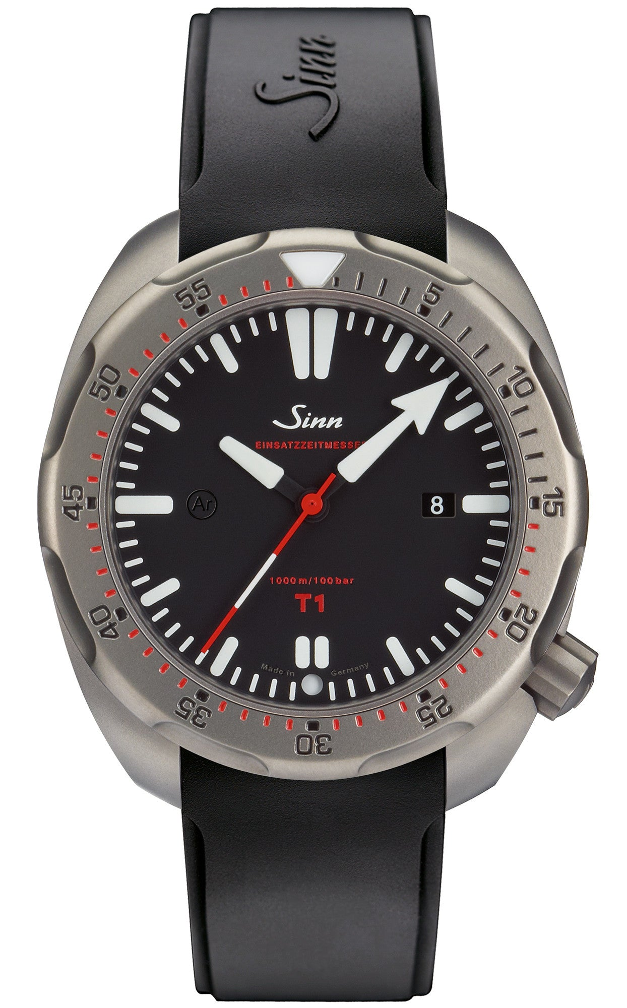 Sinn Watch T1 EZM 14 Rubber Strap