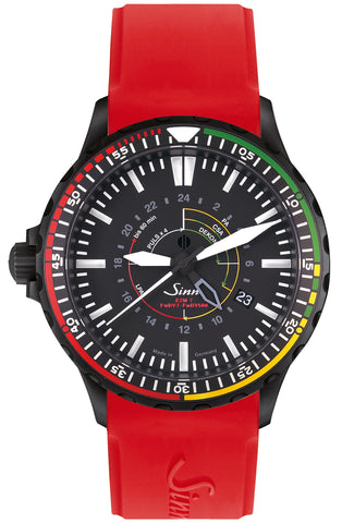 Sinn Watch EZM 7 S Rubber Red Limited Edition