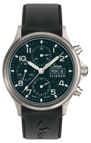 Sinn Watch 358 Sa Pilot Rubber