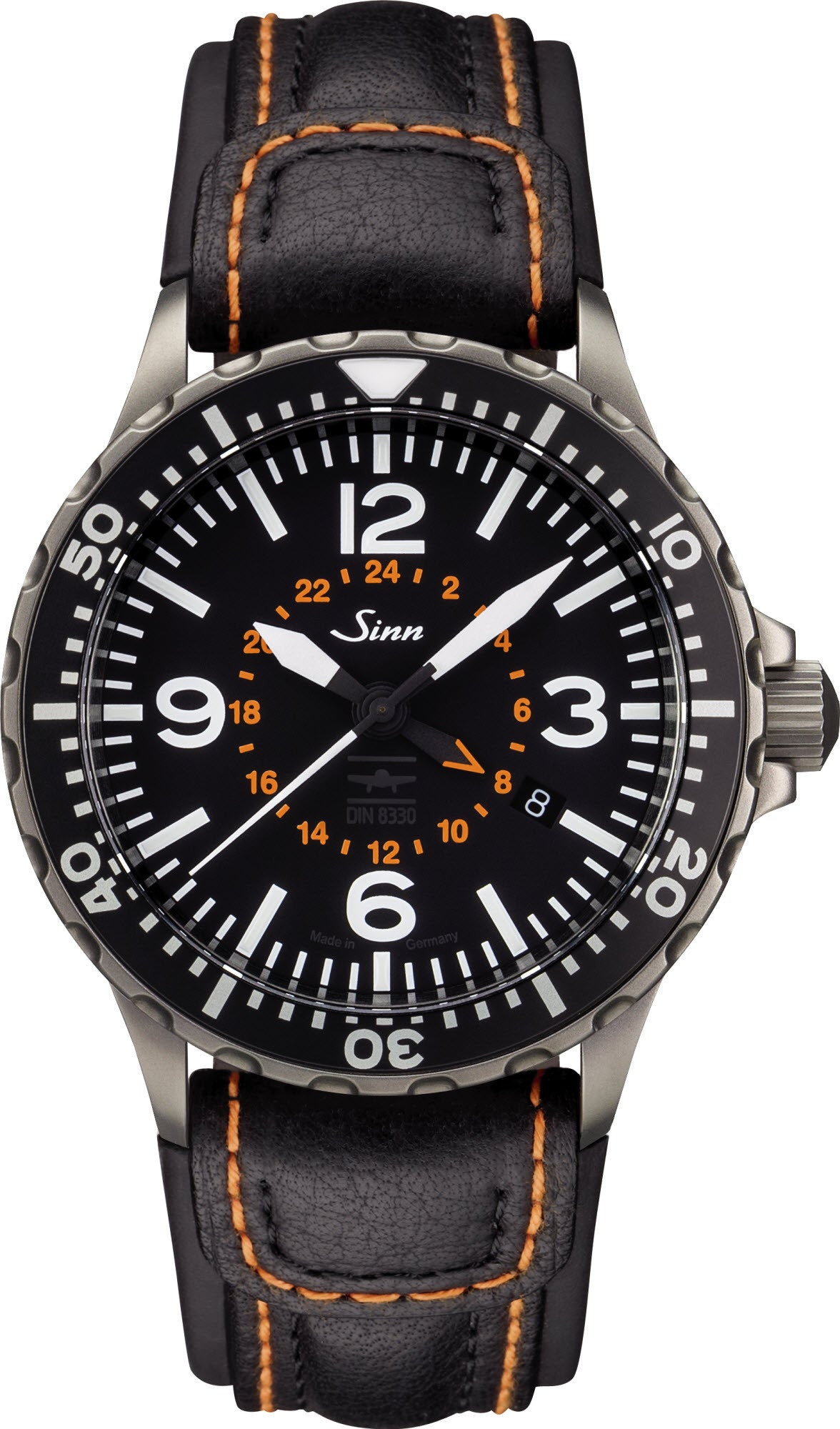 Sinn Watch 857 UTC VFR Cowhide Mens