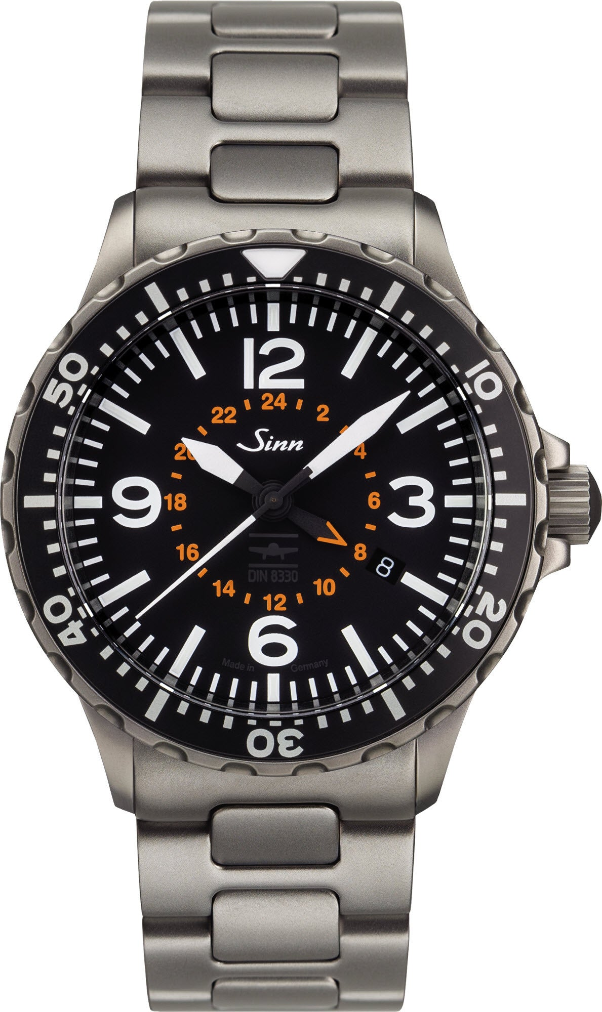 Sinn Watch 857 UTC VFR Bracelet Mens