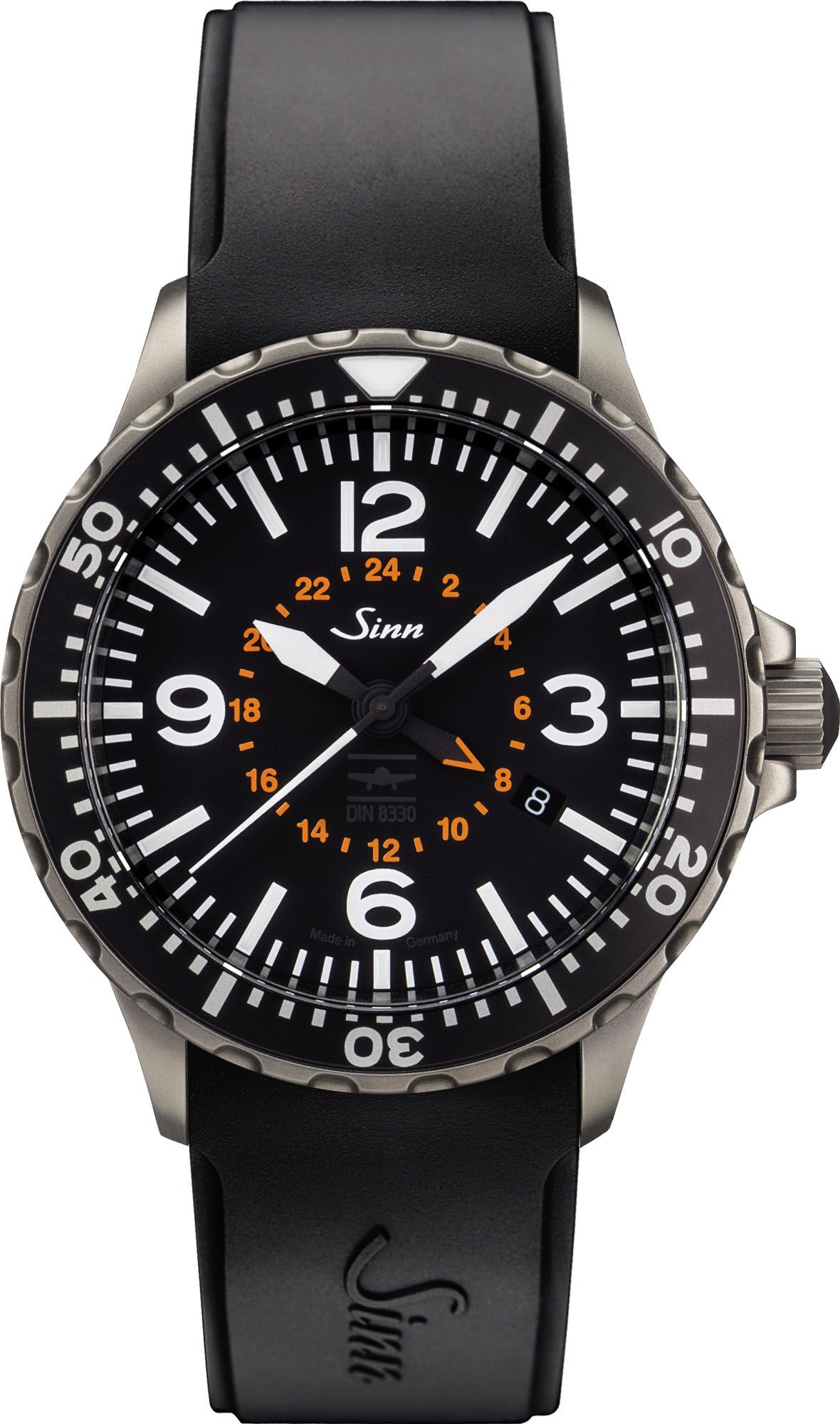 Sinn Watch 857 UTC VFR Silicon Mens