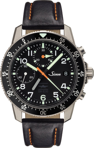 Sinn Watch 103 Ti UTC IFR Cowhide Mens