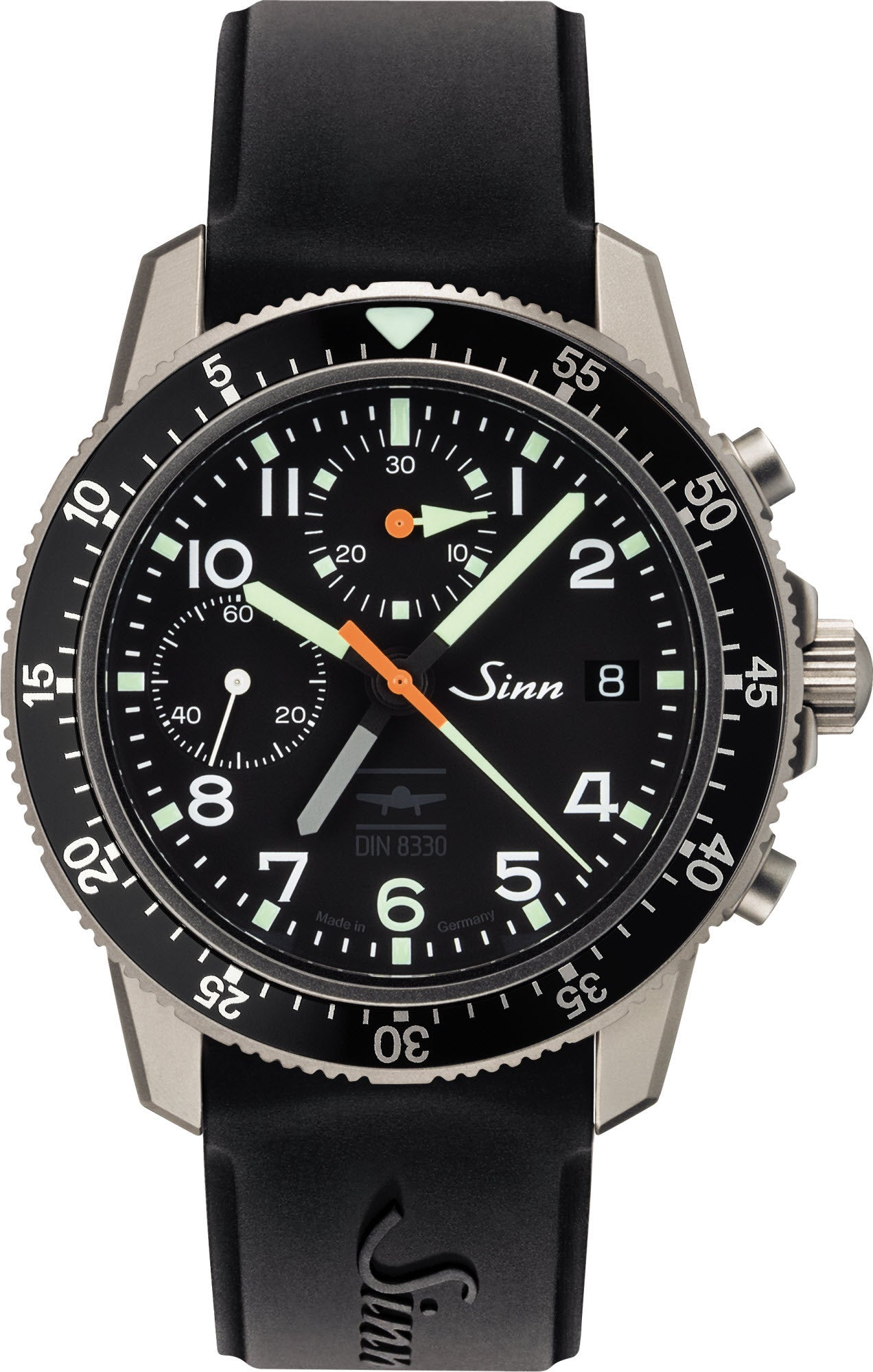 Sinn Watch 103 Ti UTC IFR Silicon Mens