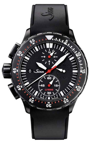 Sinn Watch U1000 S - EZM 6 Rubber