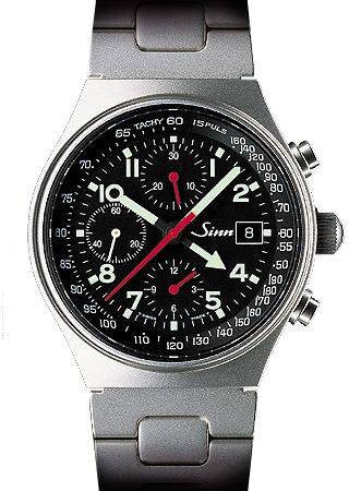 Sinn World Time Chronograph 144 GMT St D