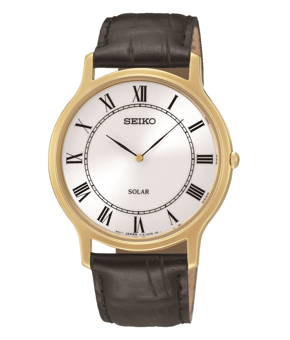 Seiko Watch Solar Gents