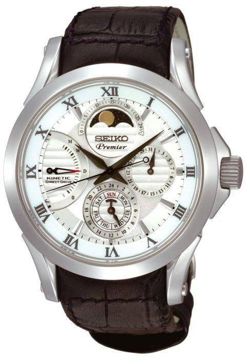 Seiko Premier Kinetic Direct Drive Moon Phase