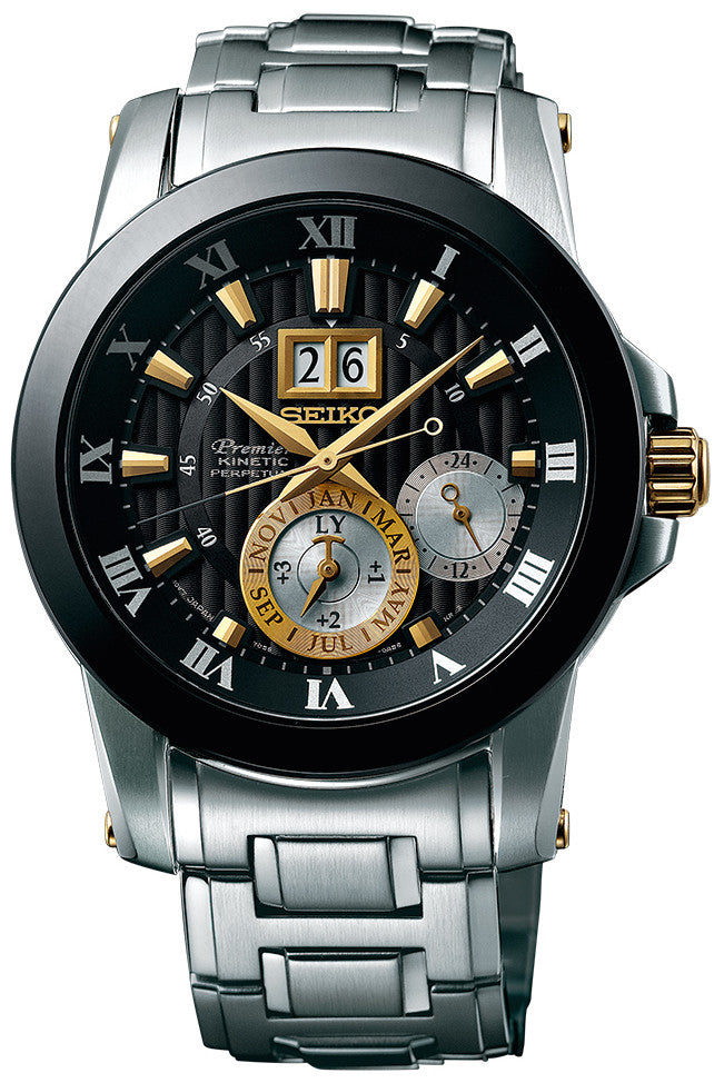 Seiko Watch Premier Kinetic Perpetual Novak Djokovic Special Edition