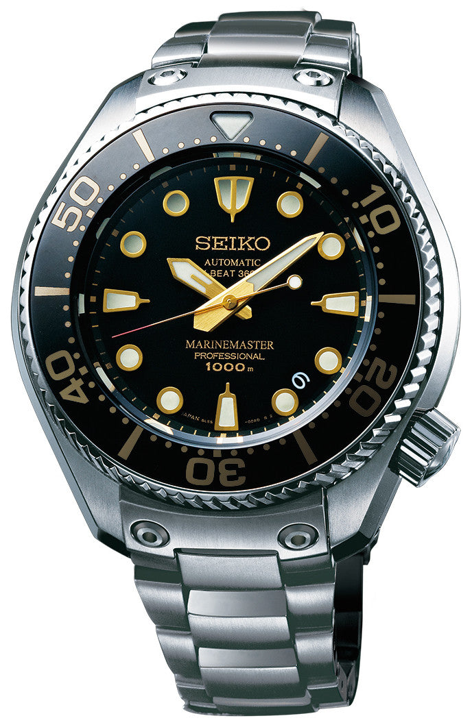 Seiko Watch Prospex Marinemaster Professional 1000m Hi Beat 36000 Limited Edition