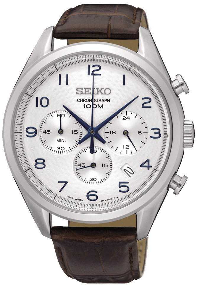 Seiko Watch Chronograph Mens