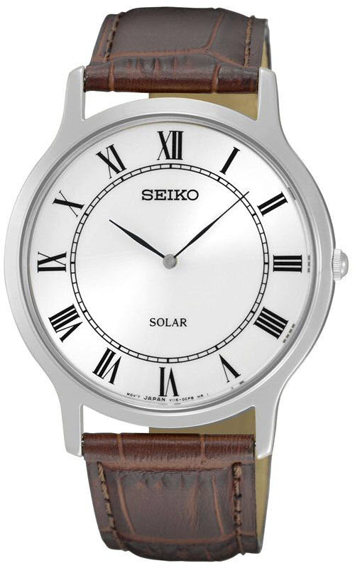 Seiko Watch Solar Mens