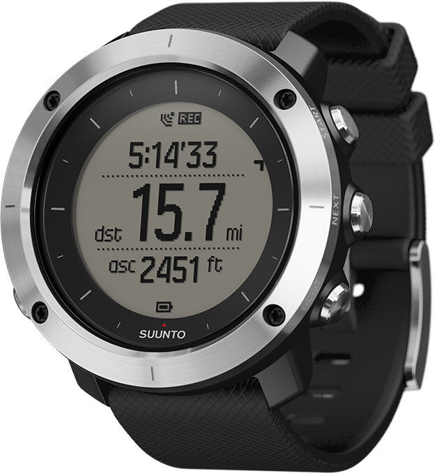 Suunto Watch Traverse Black GPS