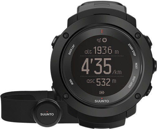 Suunto Watch Ambit3 Verticle Black HR