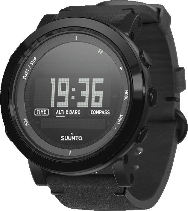 Suunto Watch  Essential Ceramic All Black