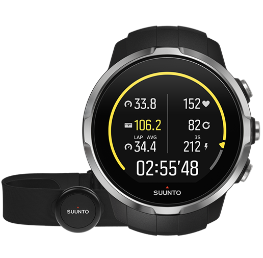 Suunto Watch Spartan Sport Black HR